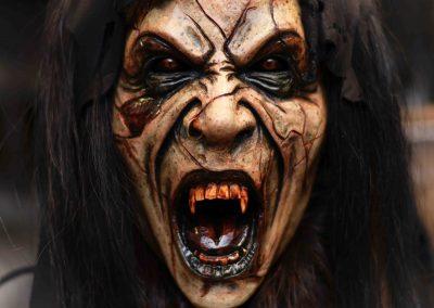 Maschera Krampus donna