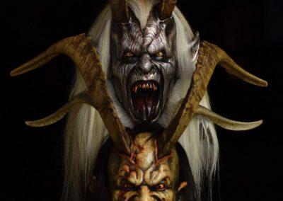 due maschere krampus