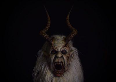 maschera krampus oscura